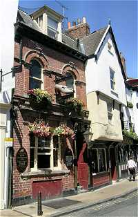 Picture of The Golden Slipper pub in York UK