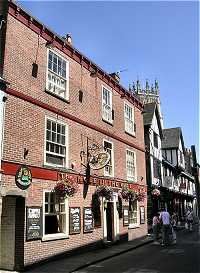 Picture of The Hole in the Wall pub in York England