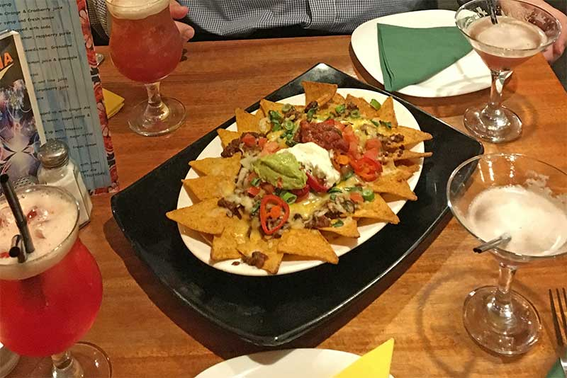 Picture of nachos with chilli