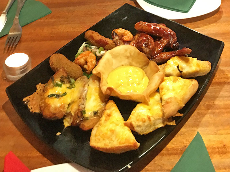 Picture of a sharing platter stater for 2 people