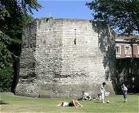 Picture of Multangular Tower in York Museum Gardens